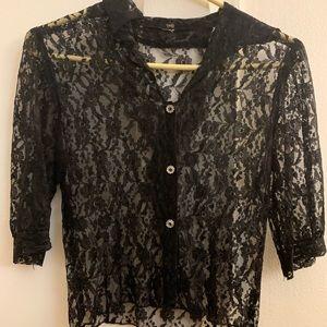 Vintage 1920/s lace blouse